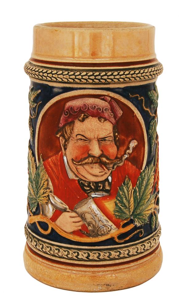 Элитная пивная кружка ручной работы XIX века