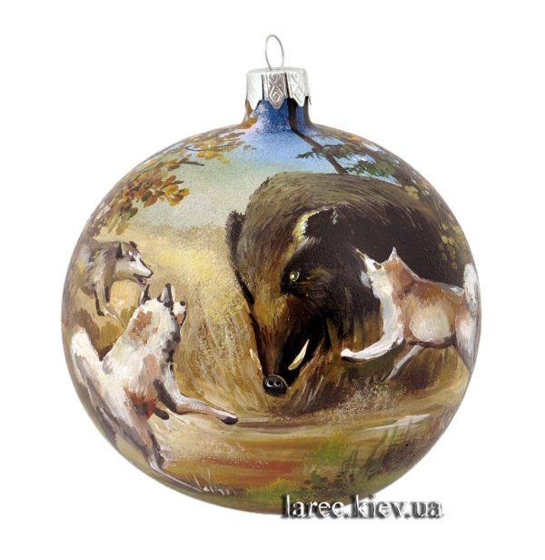 Элитный елочный шар для мужчины