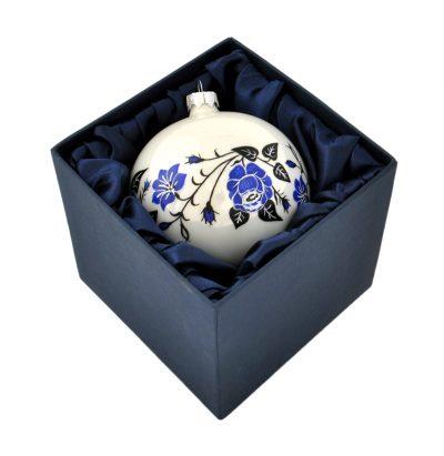 Елочный шар ручной работы «Украинский орнамент»