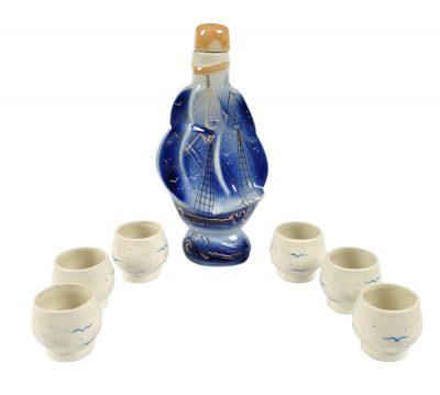 Фарфоровый набор для спиртных напитков