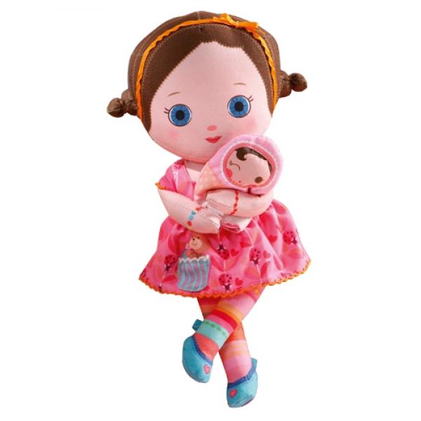 Мягкая кукла «Жанна» (24 см, с аксессуарами)