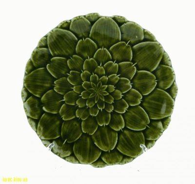 Настенная и настольная тарелка в виде цветка