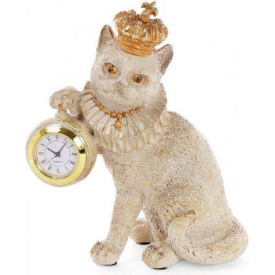 Настольные часы «Кошка»