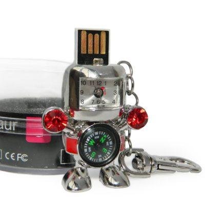Необычная флешка «Гламурный робот»