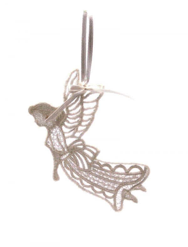 Новогоднее украшение на ёлку «Ангел с крыльями»