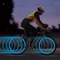 Подсветка для велосипеда rainbow color