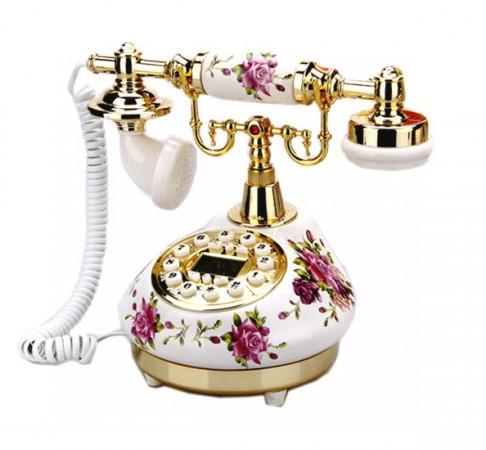 Ретро-телефон «Гламур»