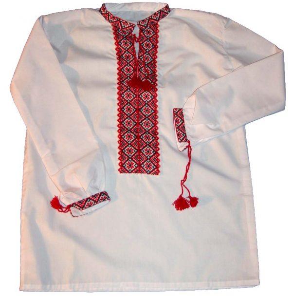 Рубашка - вышиванка подростковая