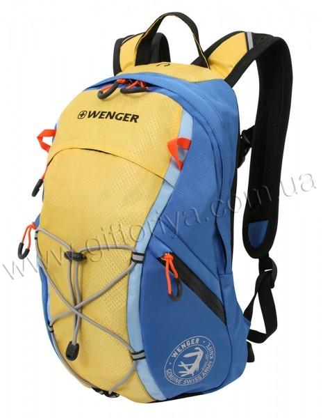 Рюкзак WENGER сине-жёлтый