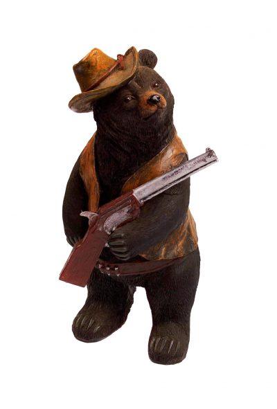 Статуэтка «Медведь - охотник»