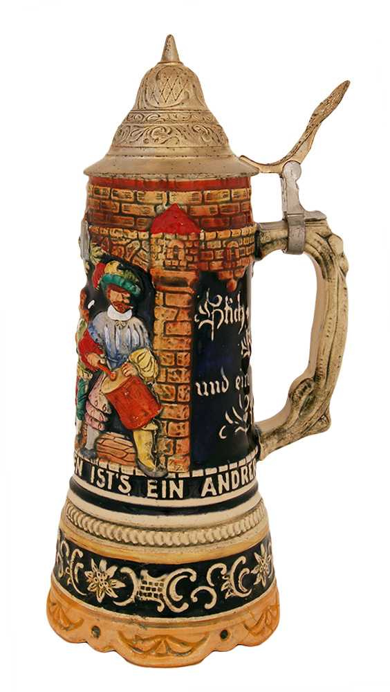 Сувенирная музыкальная пивная кружка, XX век
