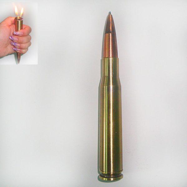 Зажигалка «Пуля» military с авторучкой