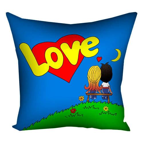 Подушка «Love is…»