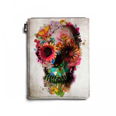 Чехол для iPad «Skull flower»