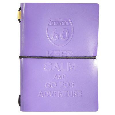 Набор «Keep Calm and Go For Adventure» сиреневый