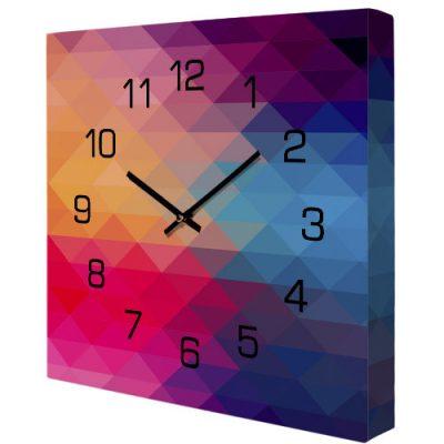 Настенные часы «Цветная геометрия»