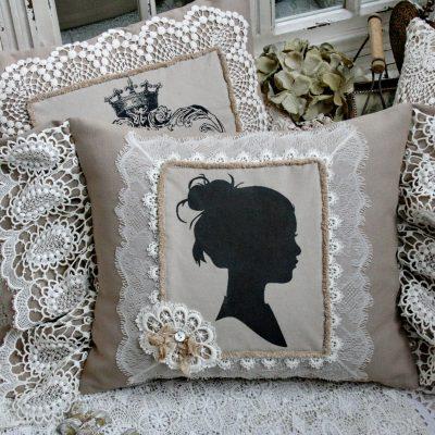 Подушка декоративная «Силуэт»
