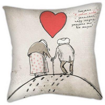 Подушка «Старички»