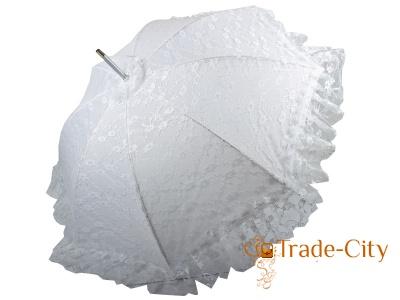 Свадебный зонт-трость женский Happy Rain