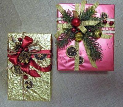 Упаковка подарка VIP, 3 тип