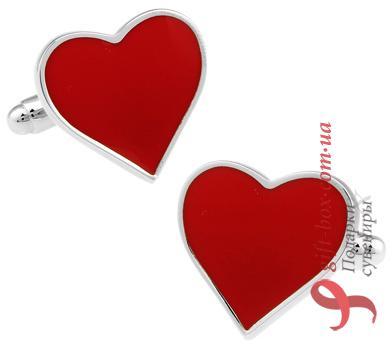 Женские запонки «Любовь»