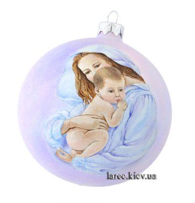 Елочный шар «Мать и дитя»