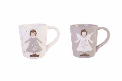 Керамическая чашка с ангелочком