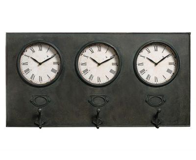 Часы-вешалка в стиле Loft