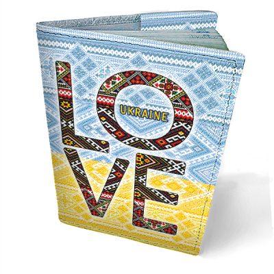 Обложка на паспорт Love Ukraine