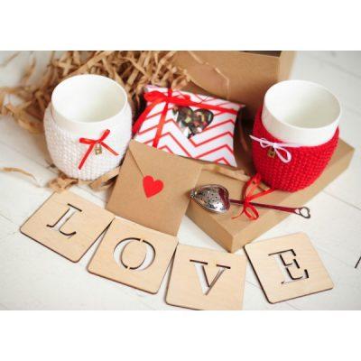 Подарочный набор «Горячие сердца»