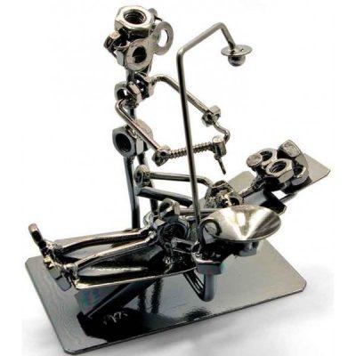 Статуэтка «Стоматолог» в стиле техно-арт
