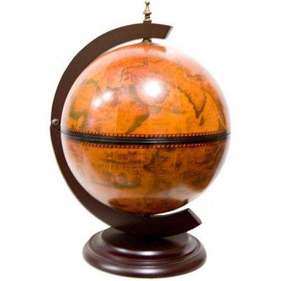 Сувенир - глобус с шахматами