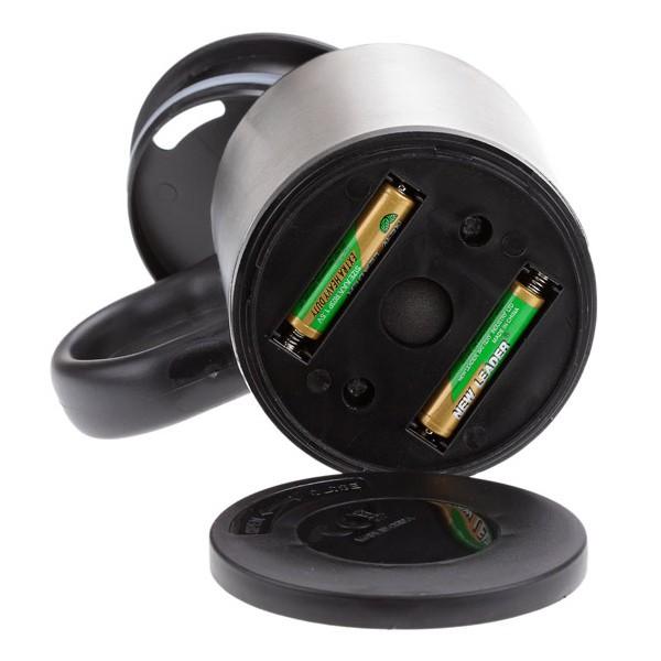 Термо-кружка с автоматическим миксером