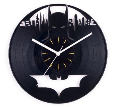Виниловые часы Artzavod «Бэтмен»