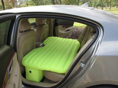 Надувной автомобильный матрас