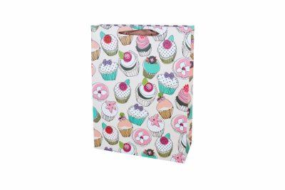 Подарочный пакет Cupcake 35 см