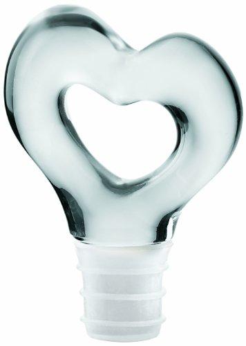 Прозрачная пробка для бутылки Guzzini «Love»
