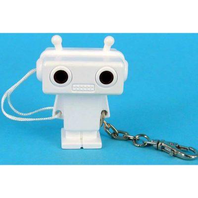 Брелок-переходник для наушников в виде робота