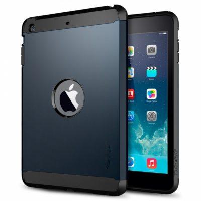 Чехол SGP Tough Armor «Metal Slate» для iPad mini/mini retina