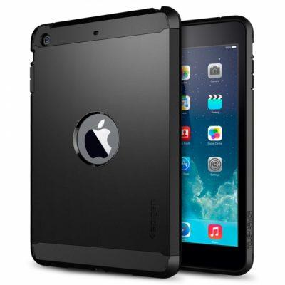 Чехол SGP Tough Armor «Smooth Black» для iPad Air