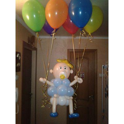 Фигура из шариков «Младенец»