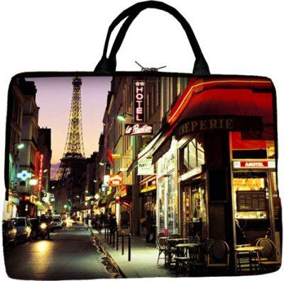 Сумка для ноутбука «Ночной Париж»