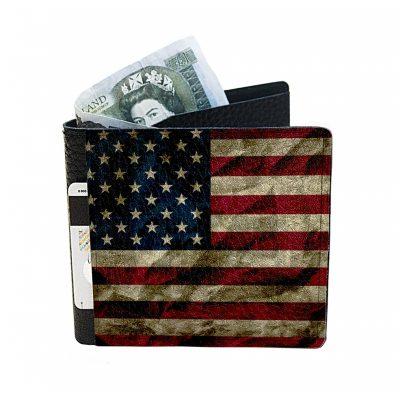 Небольшой кошелек из натуральной кожи USA