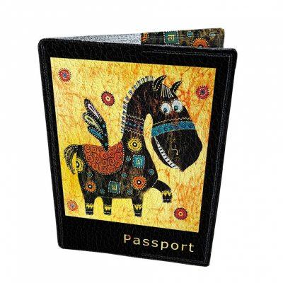 Оригинальная обложка для паспорта «Весёлый Пегас»