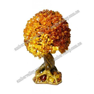 Янтарное дерево «Счастье»