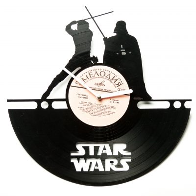 Часы виниловые Star Wars