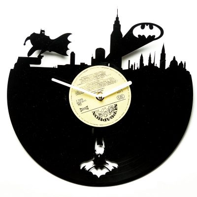 Часы виниловые Batman