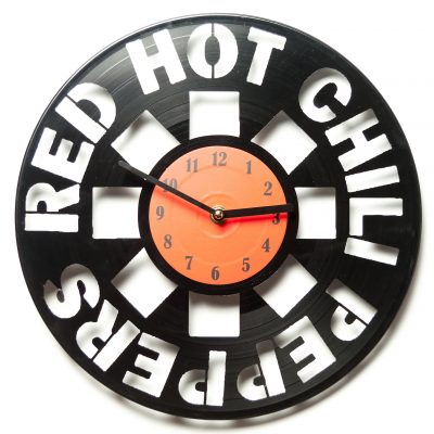 Часы виниловые Red Hot chili peppers