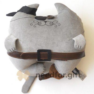 Дизайнерская подушка «Кот-пират»