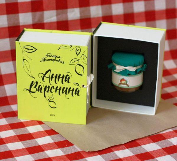 Подарочная «сладкая» книга «Анна Варенина»